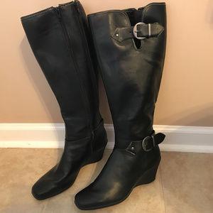 SALE❣️ AEROSOLES Black Riding Boot 8.5M